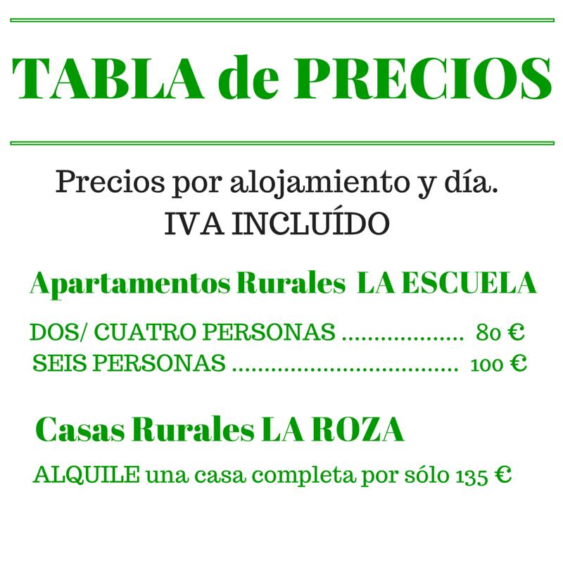 TABLA- PRECIOS-2016-Turismo-Rural-Fito