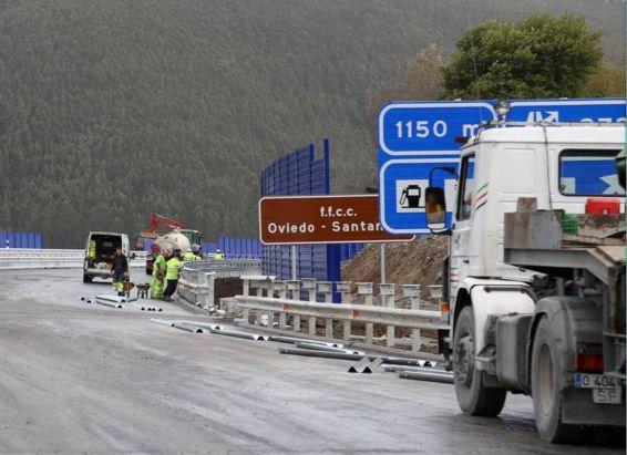 InaguraciónautovíacantábricoTramoUnquera-LaFranca
